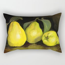 Quinces the fruit of love Rectangular Pillow