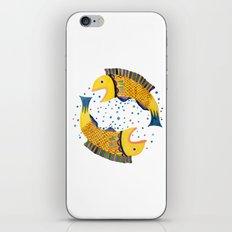 swimming circle iPhone & iPod Skin