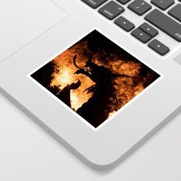 Dragon Fire. Sticker