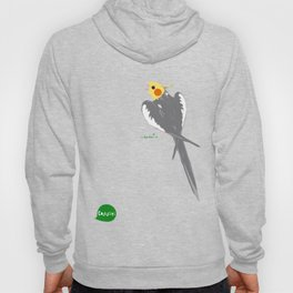 HAPPY COCKATIEL BIRD NORMAL  Hoody