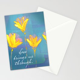 Love Brings Us Through 2 Stationery Cards