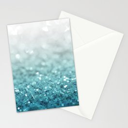MERMAID GLITTER - MERMAIDIANS AQUA Stationery Cards