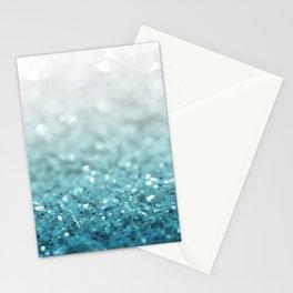 MERMAID GLITTER - MERMAIDIANS AQUA Stationery Cards