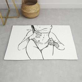 Touch and love Rug