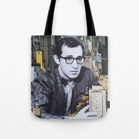 manhattan Tote Bags featuring Manhattan by John Turck