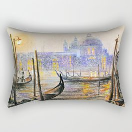 Lilac evening Rectangular Pillow