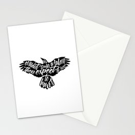 Six of Crows - Falcon design Stationery Cards