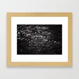 Metatronic Framed Art Print