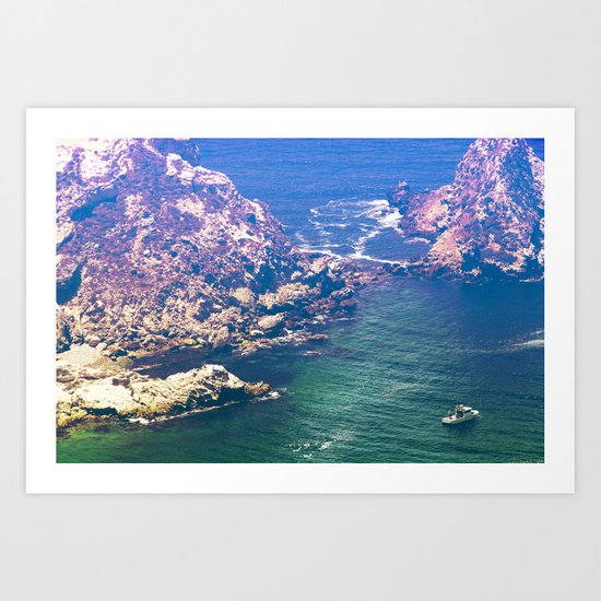 Potato Harbor at The Channel Islands Art Print