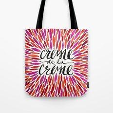 Crème de la Crème – Pink Palette Tote Bag