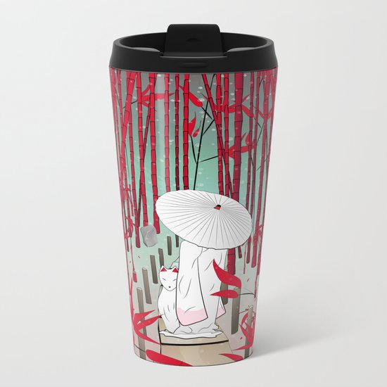 Yuki- onna Metal Travel Mug