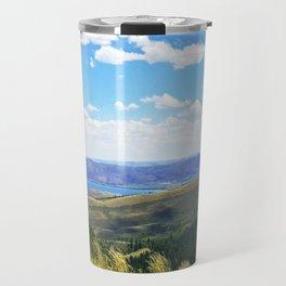 Bear Lake Blue Travel Mug