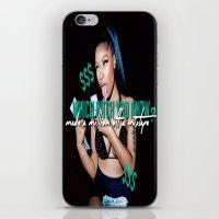 minaj iPhone & iPod Skins featuring Up All Night by Nicki Minaj Spain