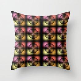 Studio 54- Warholesque Throw Pillow