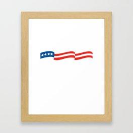 Vote 2020 Harris design Framed Art Print
