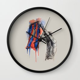 Messi celebration Wall Clock