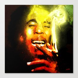 Jah is Mighty Canvas Print