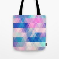 diamonds Tote Bags featuring diamonds by Sylvia Cook Photography