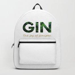 Gin - The joy of juniper Backpack