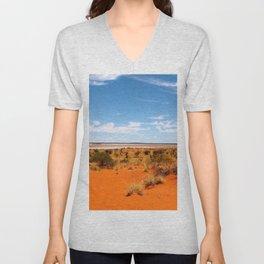 Outback Saltflats Unisex V-Neck