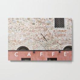 Caffè Metal Print