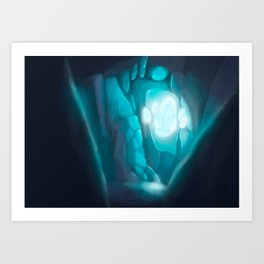 Secret Crystal Art Print
