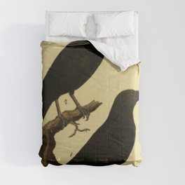 Crow And Raven Comforters