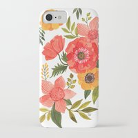 power iPhone & iPod Cases featuring FLOWER POWER by Oana Befort