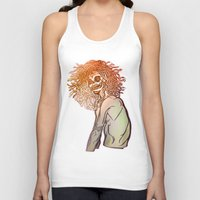 medusa Tank Tops featuring MEDUSA by BABA-G | arts and crafts