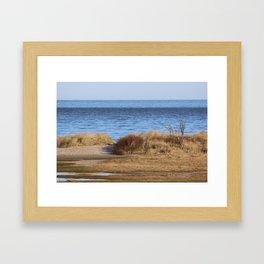 At the beach 4 Framed Art Print