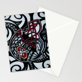 POLY STYLE 49ERS Stationery Cards