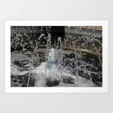 water play Art Print
