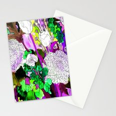 forest flowers 2 Stationery Cards