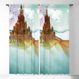 Goldfish Castle Blackout Curtain