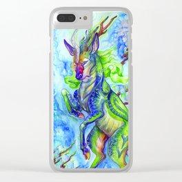 Divine Beast Clear iPhone Case