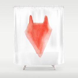 Red Foxx Shower Curtain