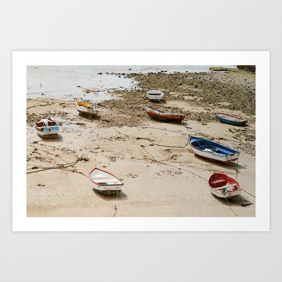 Barques, Cadix, Cadiz, Espagne Art Print