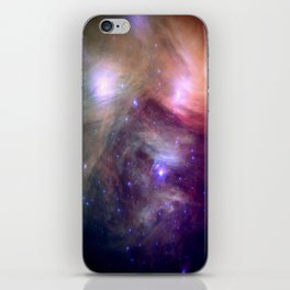 Galaxy : Pleiades Star Cluster NeBula iPhone Skin