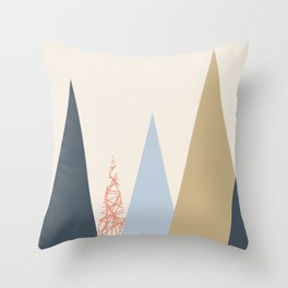 Almohadon Triangulos Throw Pillow