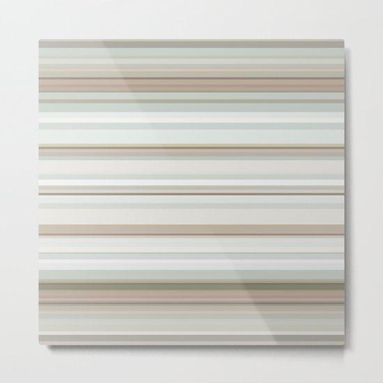 Classic stripes pattern Metal Print