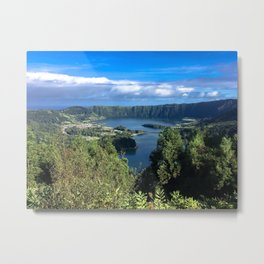 Paradise in Azores Metal Print
