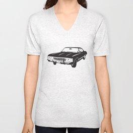 Supernatural Chevrolet Impala 67' Unisex V-Neck