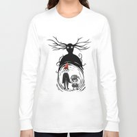 over the garden wall Long Sleeve T-shirts featuring Over the Garden Wall by Joana Shino