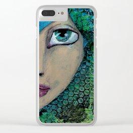 Jade Clear iPhone Case