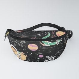 Catstronaut and Dogstronaut Fanny Pack