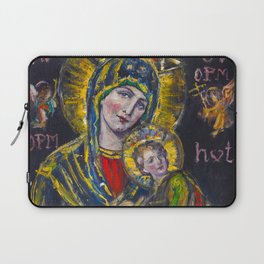 Our Lady of Perpetual Help Laptop Sleeve