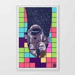 tetris space  by joejr  Canvas Print