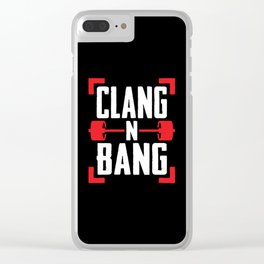 Clang N Bang Clear iPhone Case
