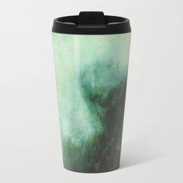 Morning dust on Mountains - Forest Wood Tree Travel Mug