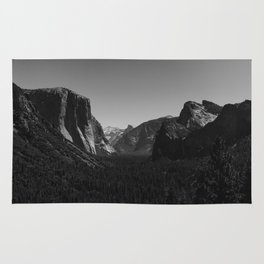 Tunnel View, Yosemite National Park IV Rug